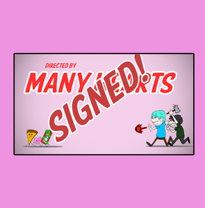 "Image of Signed: Many Hearts"" January 2008"" Title card"