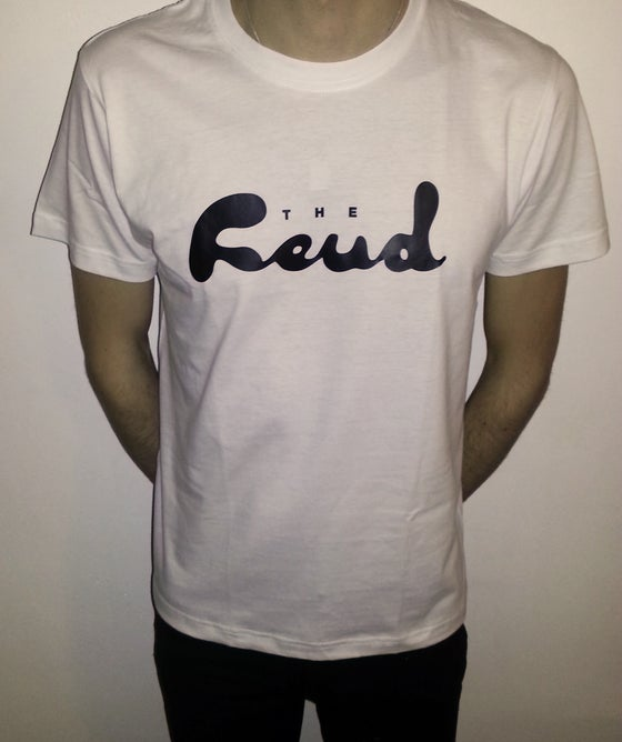 Image of The Feud Plain Logo Tee (White)