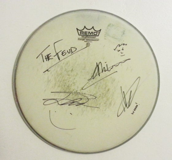 Image of Personalised Signed Drum Skin