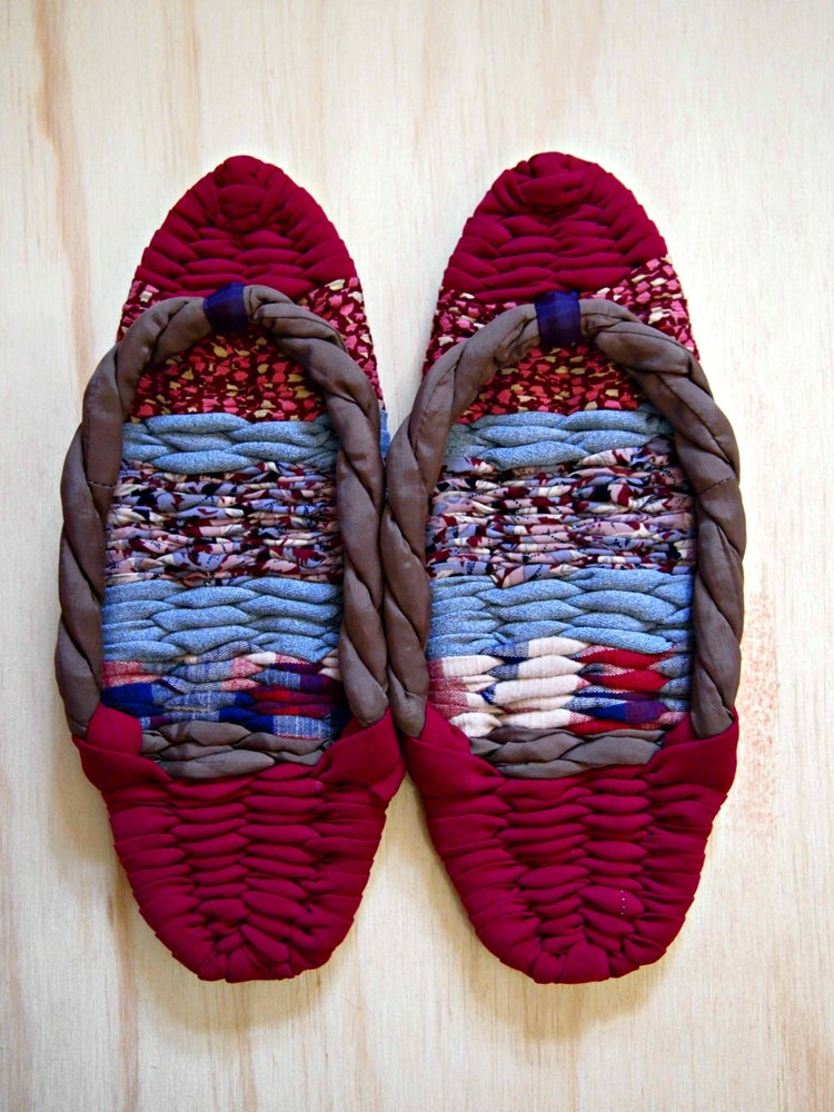 Image of Japanese Indoor Slippers(red)