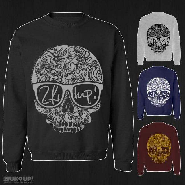 Image of 2FU! Hipster Skull