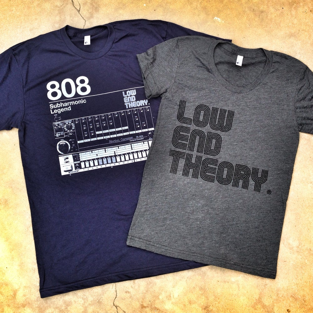 Image of LOW END THEORY 808 Subharmonic Legend Tee