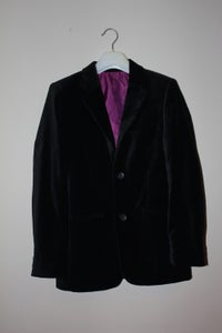Image of Velour Suit Jacket