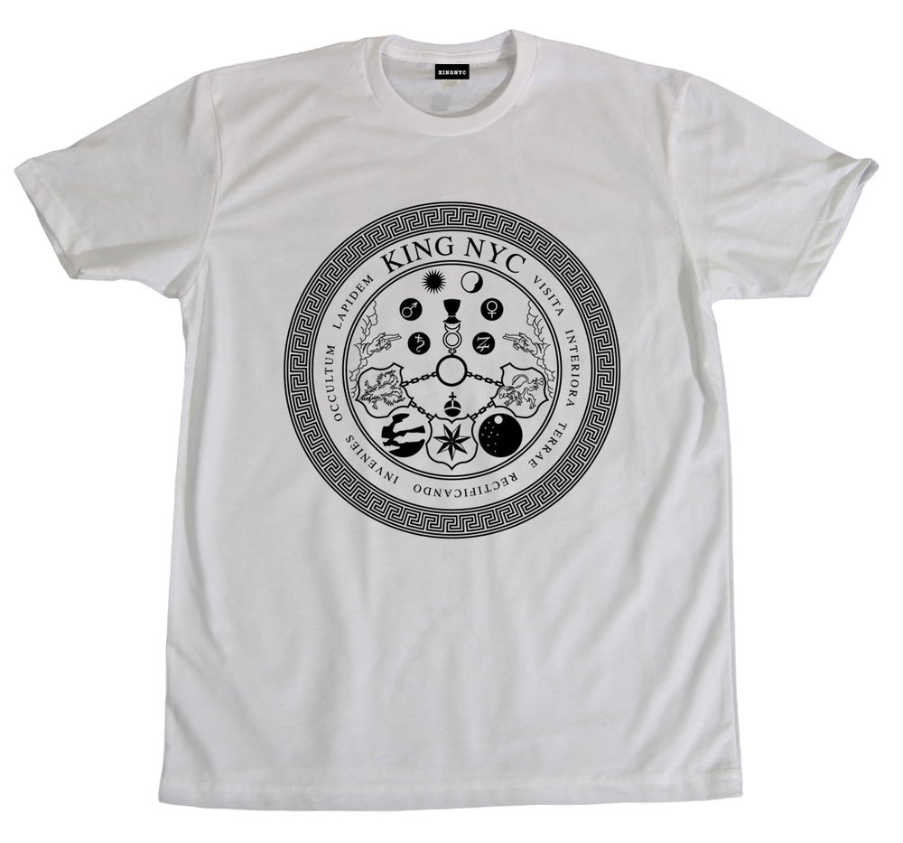 Image of KingNYC Vitriol Seal T-Shirt