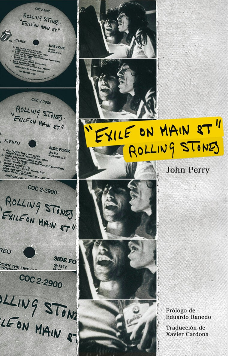Image of John Perry - Exile On Main Street, Rolling Stones (Libro/Book)