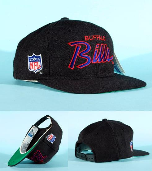 4dbf367bede3f Image of Vintage 90s Buffalo Bills NFL sports specialties script snapback  (BNWT)