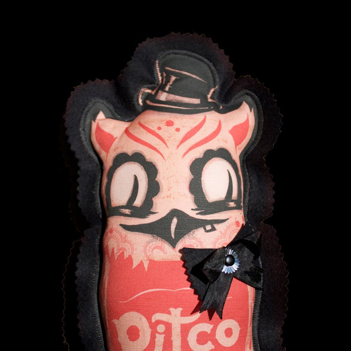 Image of Winchester Hoot Doll:  Strawberry Edition. Jumbo size