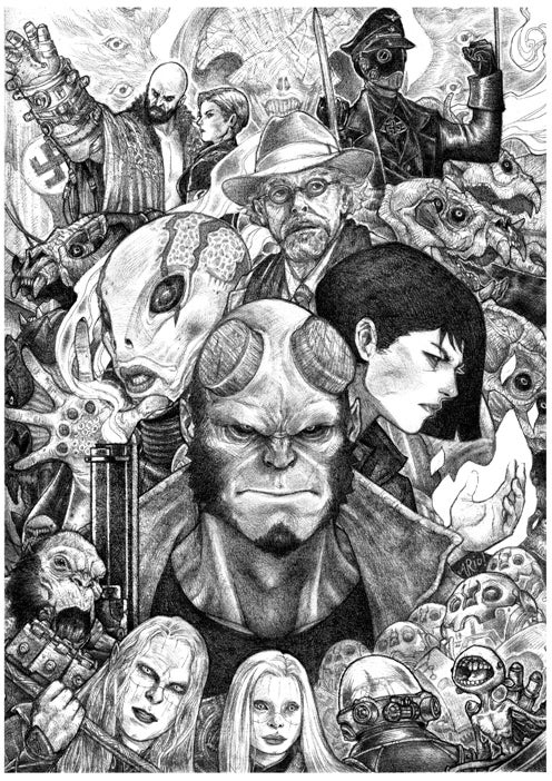 Image of Hellboy - A2 poster