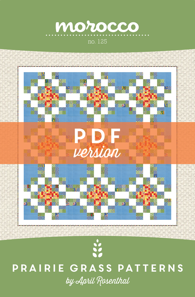 Image of Morocco: PDF Quilting Pattern #125