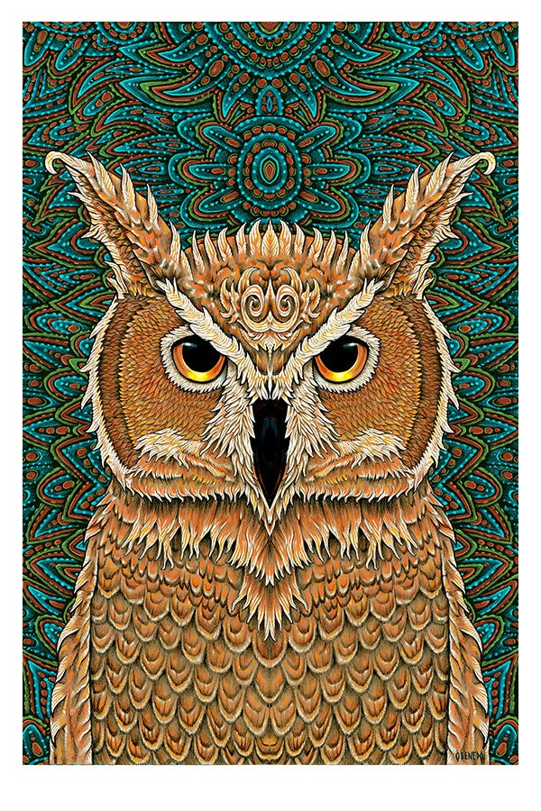 Harvest Owl Print