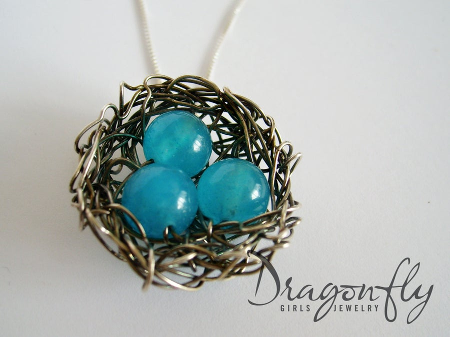 Image of Sterling Silver Nest Pendant