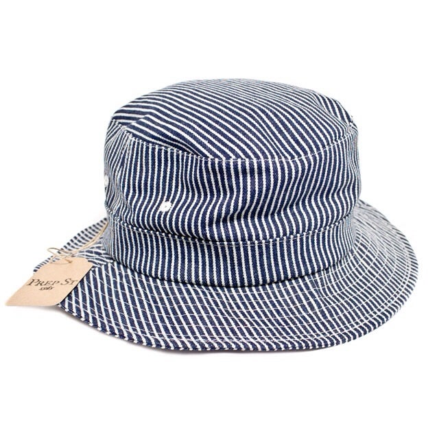 Image of Hickory Stripe Bucket Cap (Made in USA)