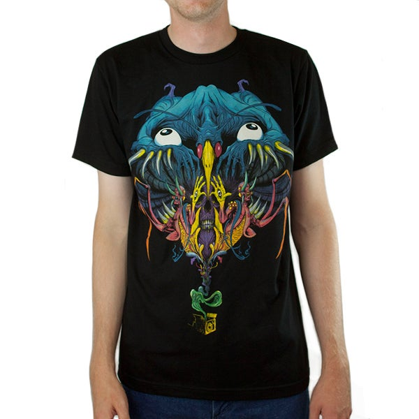 Image of Vertigo Nightmare | By Alex Pardee | T-Shirt