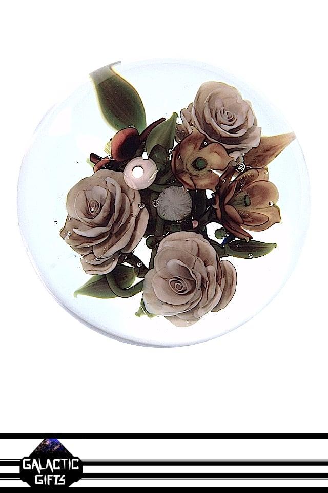 Image of Akihiro Okama Floral Rose Bouquet Marble