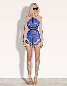Image of Pre Order Cotura Collection Blue Sleek Dress