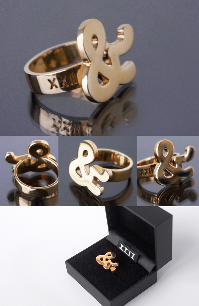 Image of XXII Ampersand Ring