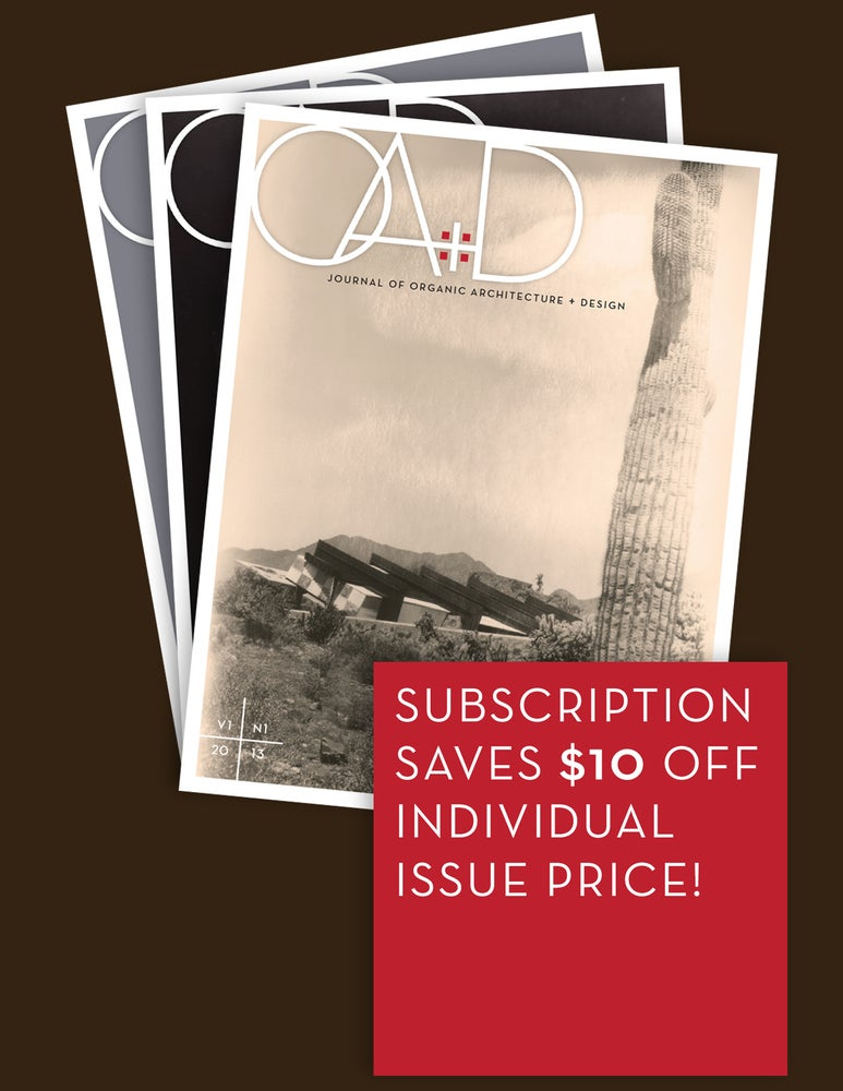 Image of JOURNAL OA+D ANNUAL PRINT SUBSCRIPTION
