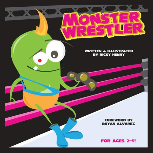 Image of Monster Wrestler - Children's Book (paperback)