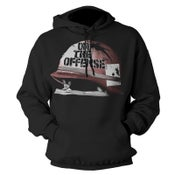 "Image of ON THE OFFENSE ""Helmet"" Hoodie"