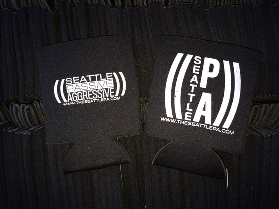 Image of Seattle Passive Aggressive Koozies