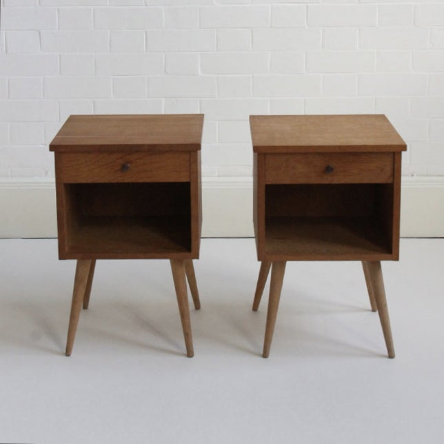 mid-century bedside tables – mar-den - selling and sourcing unique