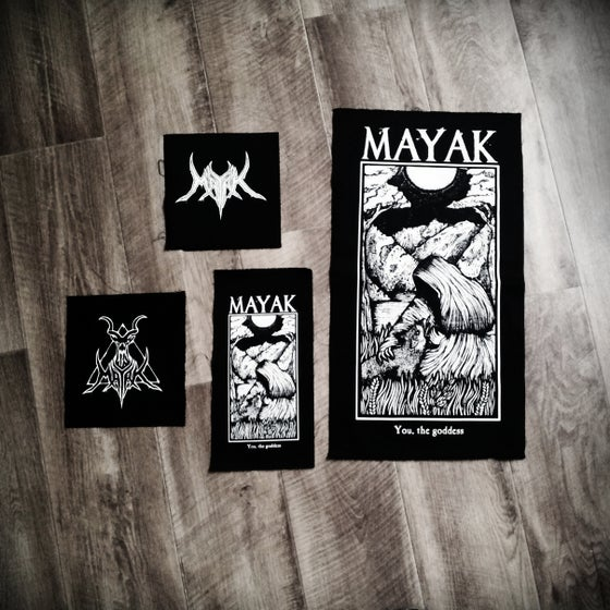 Image of Screenprinted Patches