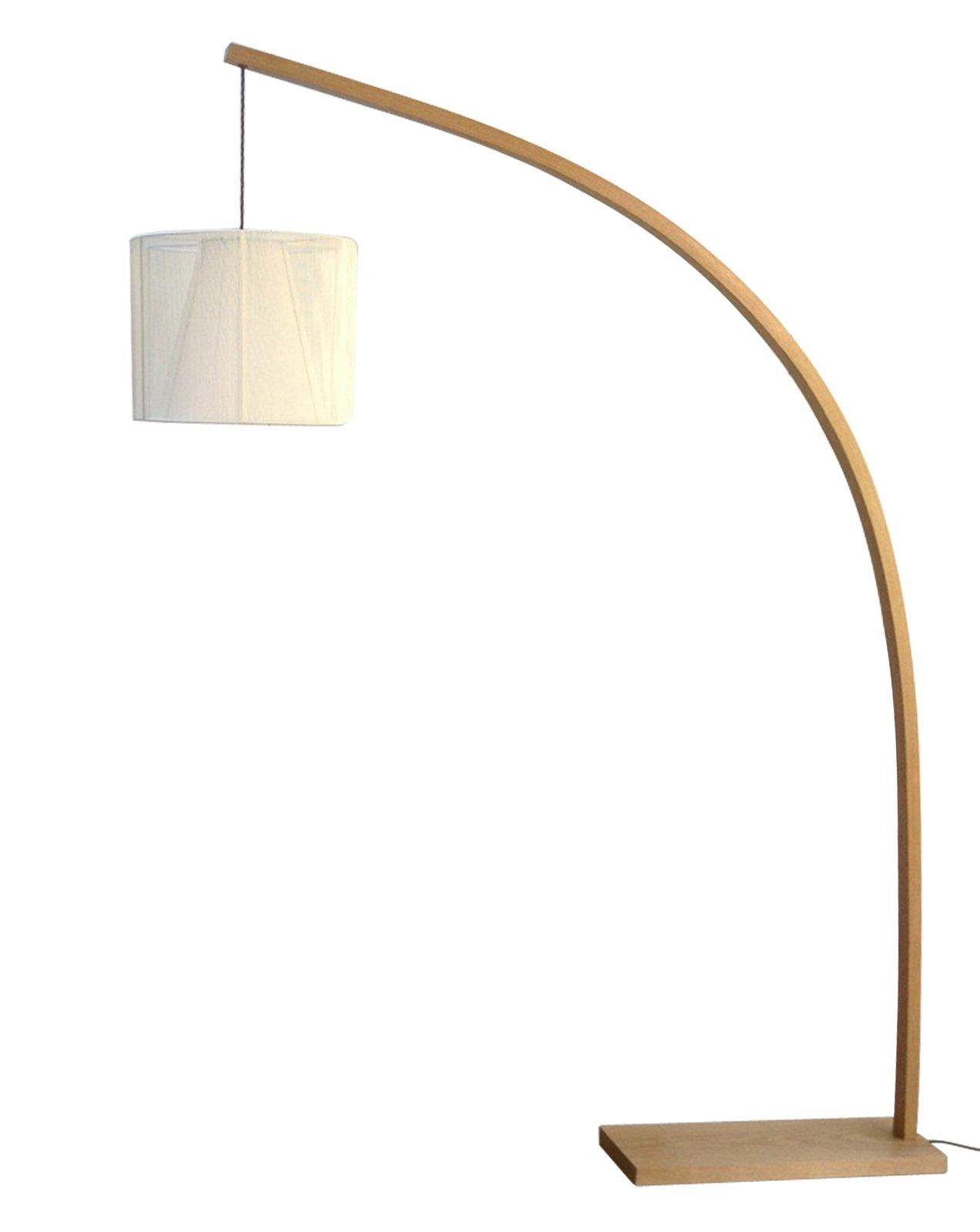 Image Of Floor Standing Arc Lamp