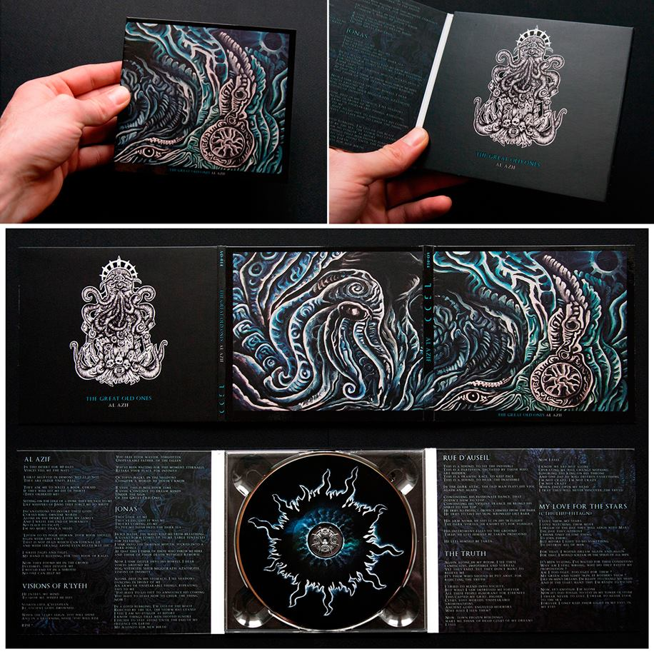 Image of Al Azif Digipack 2013