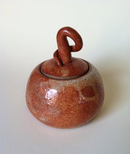 Image of Lidded harvest jar