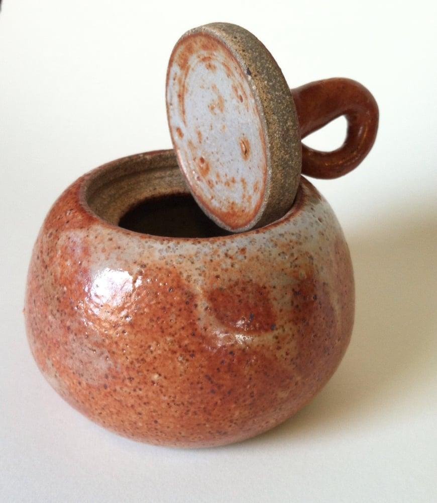 Image of Lidded harvest jar