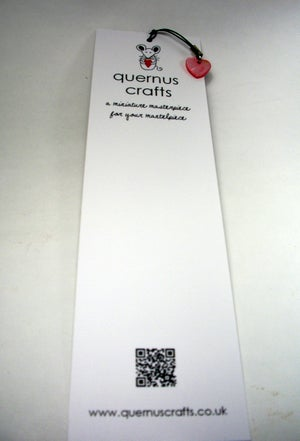 I Heart Books Bookmark