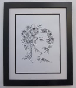 Image of 'Flora' Limited Edition Signed Print by Kelly O'Gorman