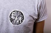 Image of EM Grey 'Logo' T-Shirt