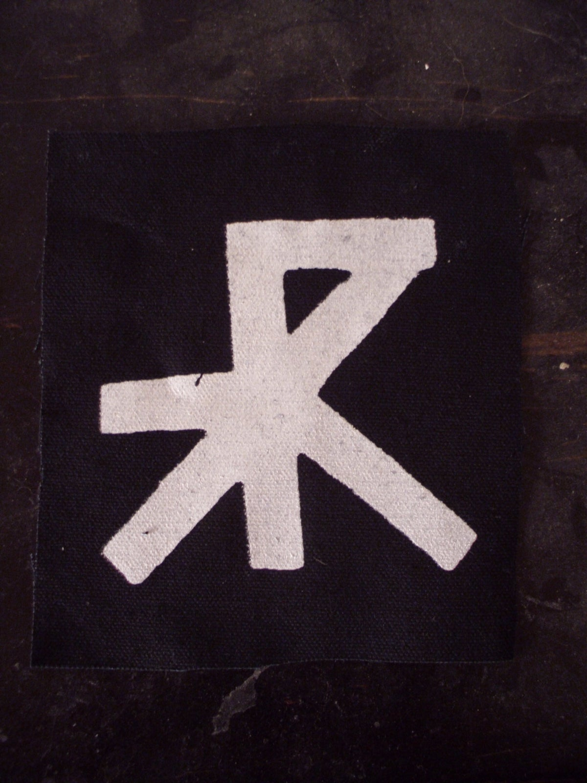 Image of TREPANERINGSRITUALEN CANVAS PATCH