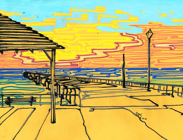 Image of The Real Jersey Shore - SOLD