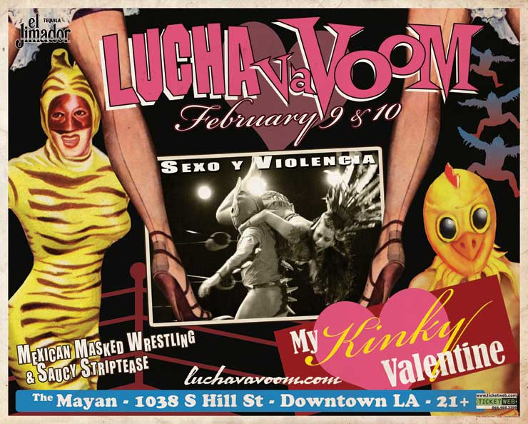 Image of Lucha VaVOOM poster 26