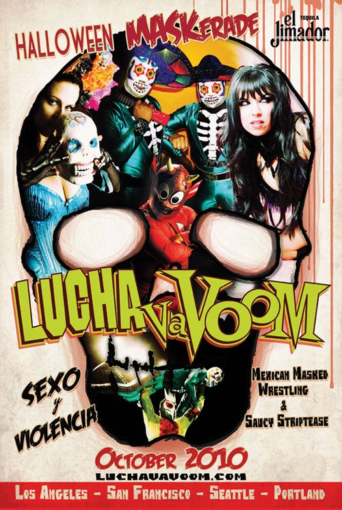 Image of Lucha VaVOOM poster 25