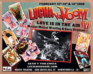 Image of Lucha VaVOOM poster 17