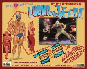 Image of Lucha VaVOOM poster 14