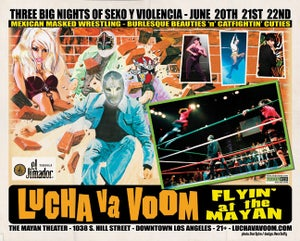 Image of  Lucha VaVOOM poster 12