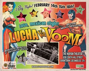 Image of Lucha VaVOOM poster 11