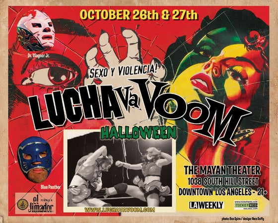 Image of Lucha VaVOOM poster 10