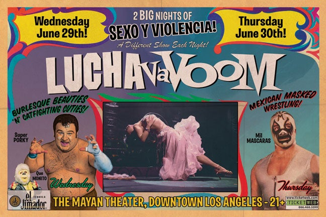 Image of Lucha VaVOOM poster 9