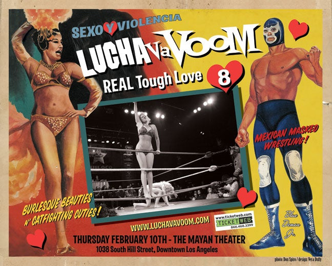 Image of Lucha VaVOOM poster 8