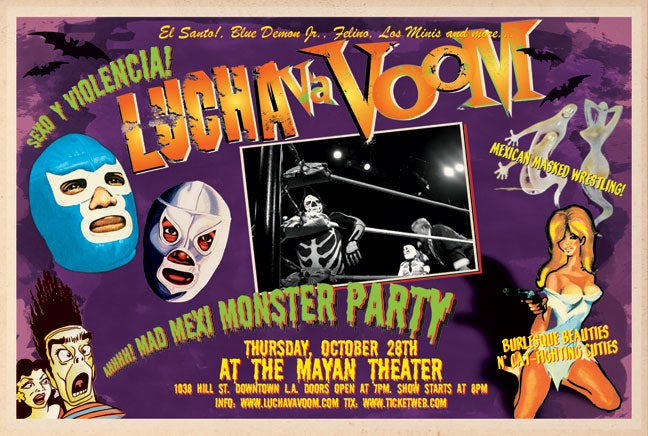 Image of  Lucha VaVOOM poster 7