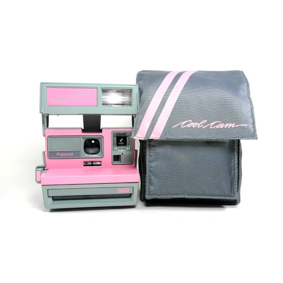 Image of Polaroid 600 Pink & Grey Cool Cam
