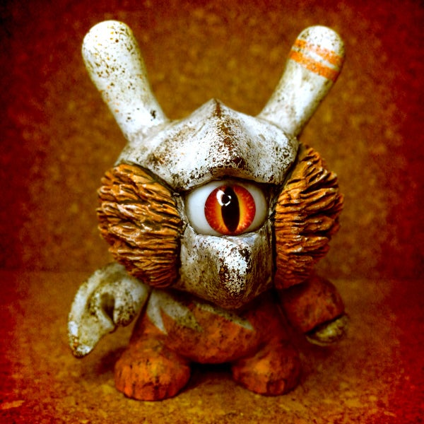 Image of Orange moko dunny - soldout