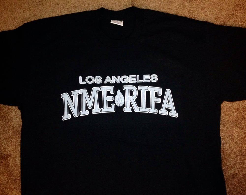 Image of Los Angeles NME RIFA T shirt