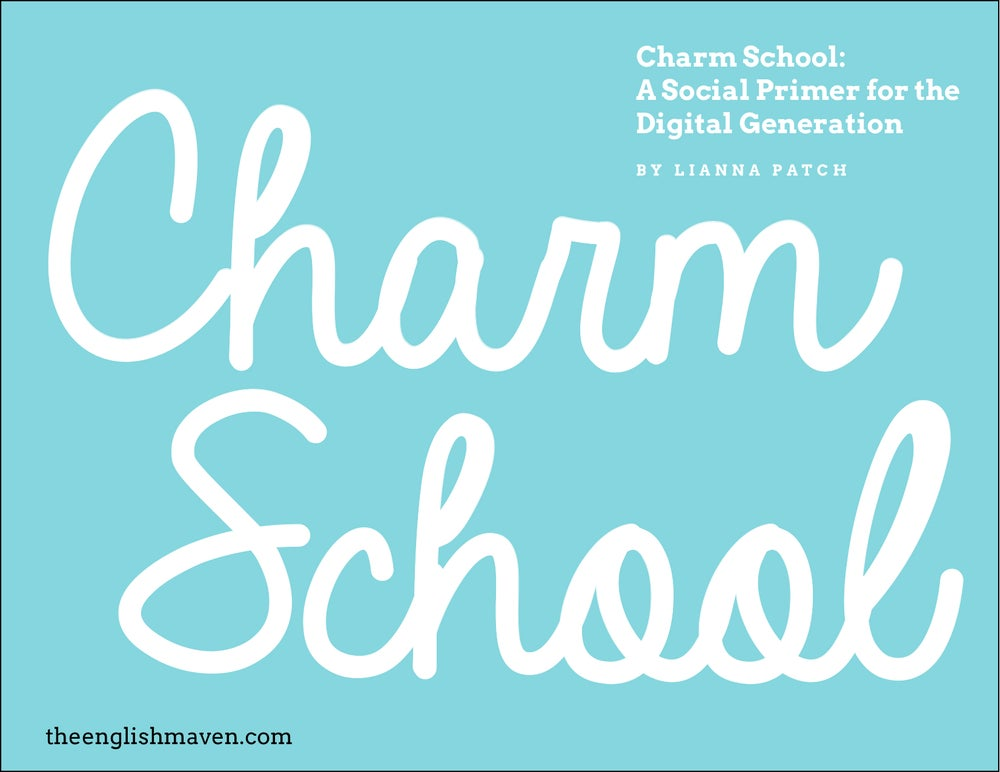 Image of Charm School: A Social Primer for the Digital Generation (E-BOOK)