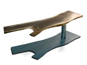 Image of Cast Metal Shadow Coffee Table